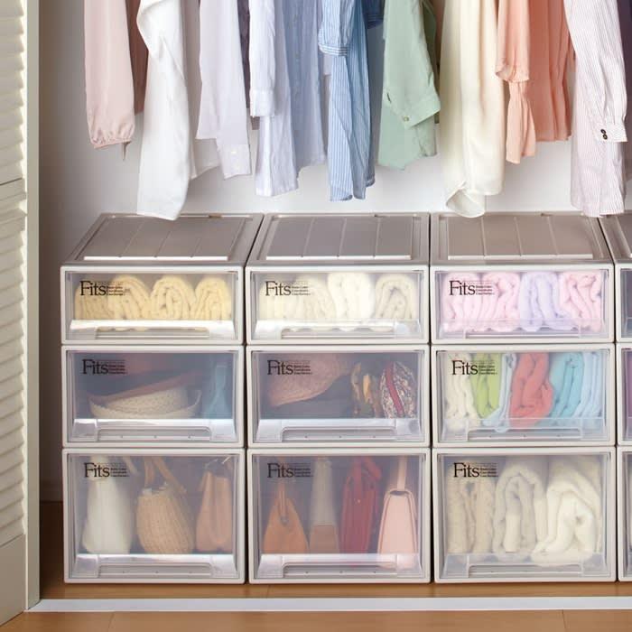 プロが教える!衣装ケース・収納ボックスの選び方と収納術。5つのコツで快適クローゼットに!