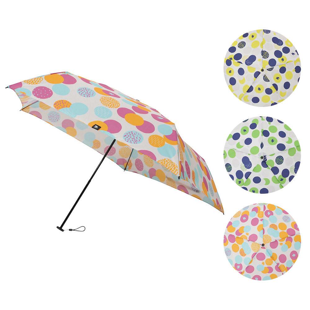 moz(モズ)/UVカット折り畳み傘 エルクと水玉