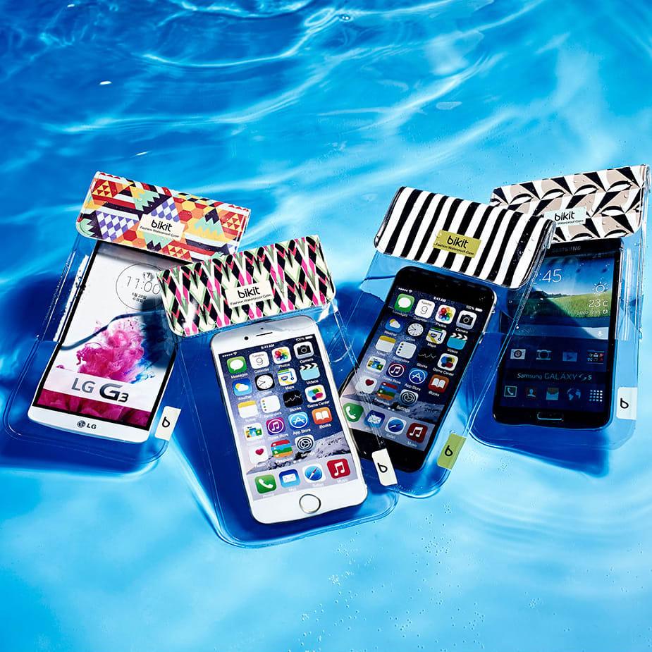 【第5位】スマートフォン用防水ポーチ bikit2