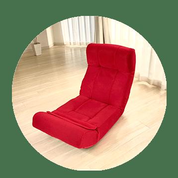 快適ソファー座椅子  らくらく腹筋生活DX