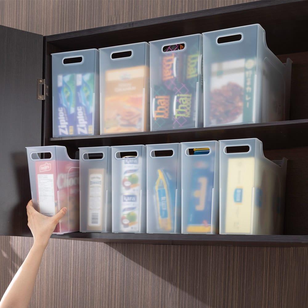 収納のプロが選ぶ、「ディノスのよりどり3点」!縦長のボックス&乾燥容器でキッチンを整理!