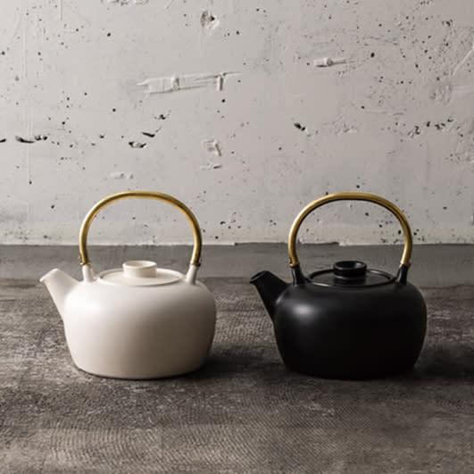 Ceramic Japan(セラミック・ジャパン)/ハーブティーポット 薬草土瓶