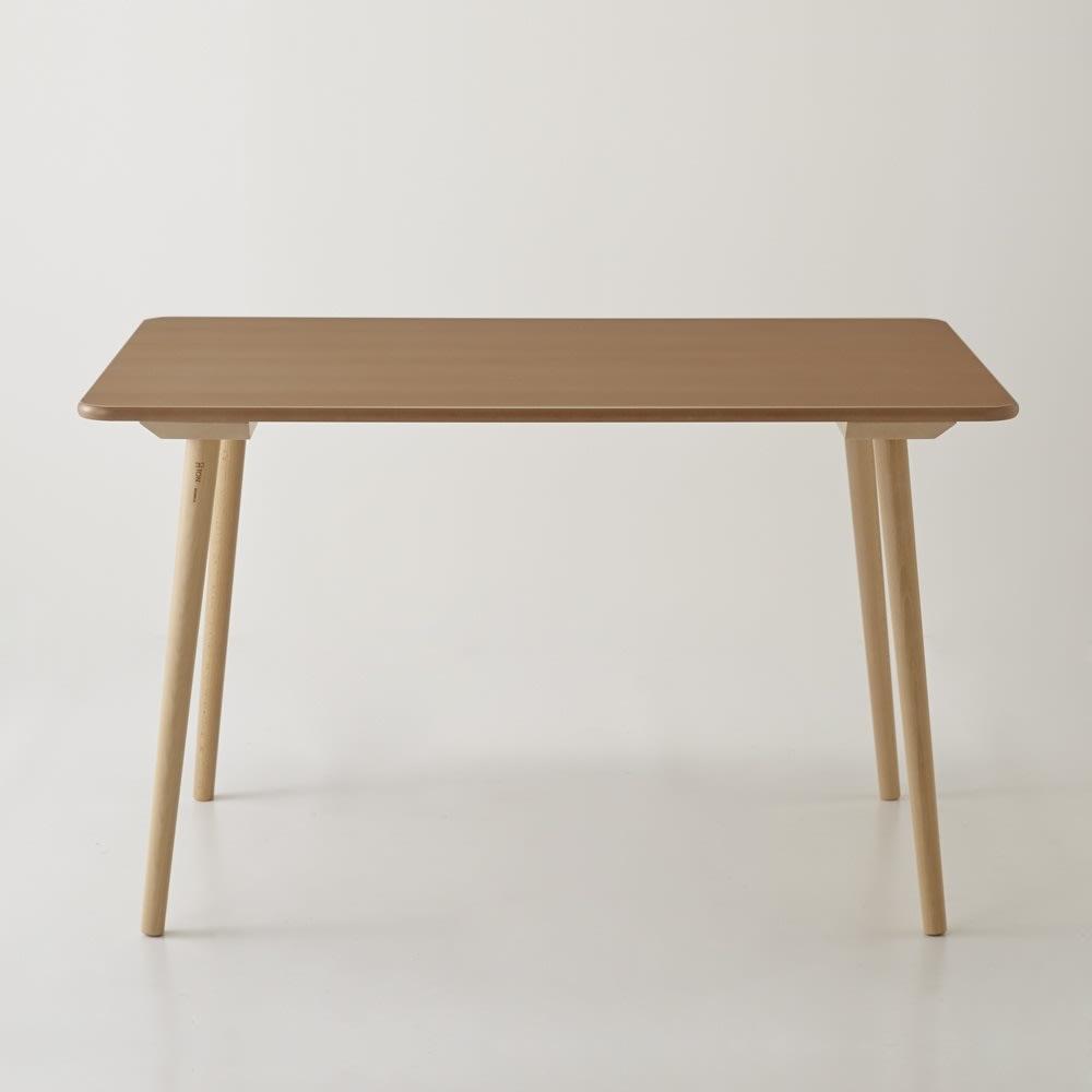 長方形ダイニングテーブル 幅約120cm[チェコ・TON社]