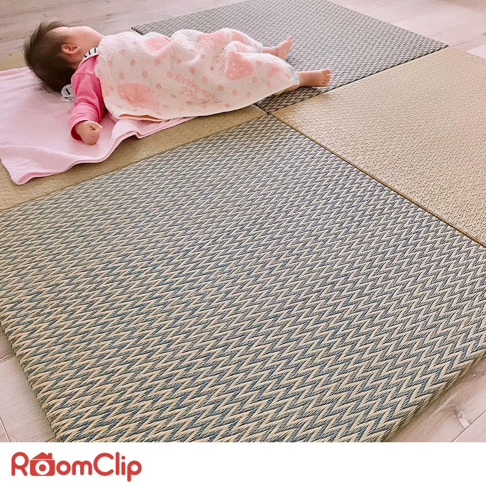フローリング×畳の組み合わせでも意外としっくり。