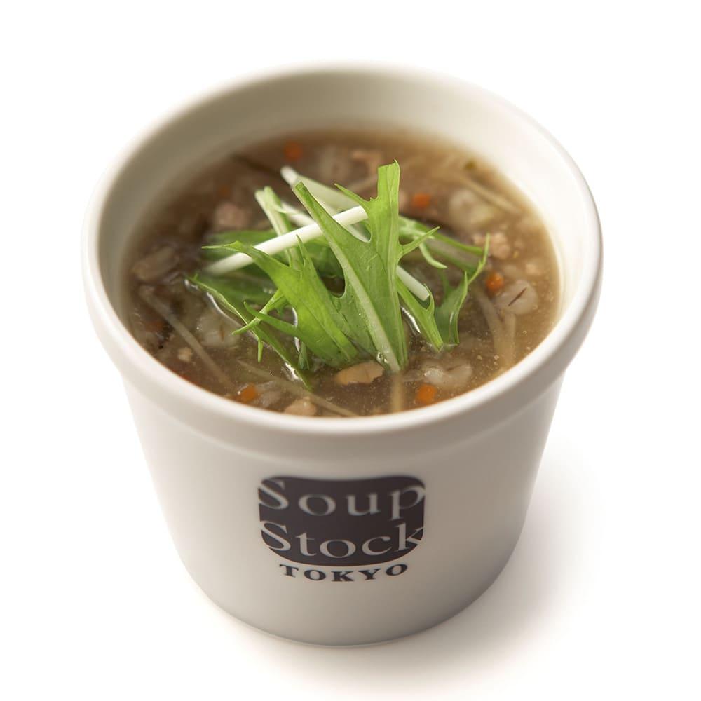生姜入り和風スープ