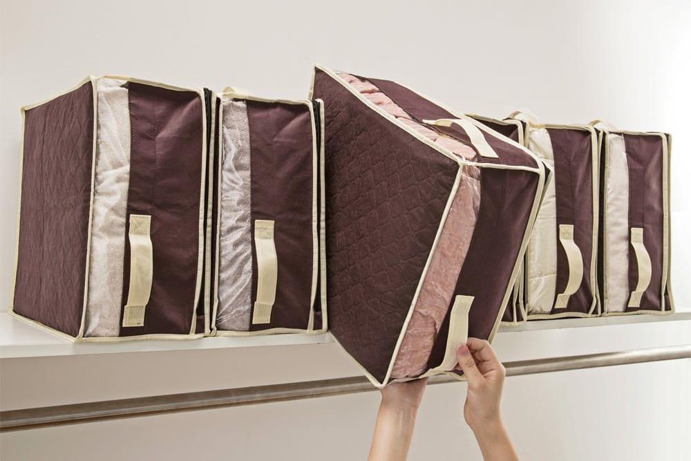 収納のプロに学ぶ収納術!服の収納に便利なソフト収納ボックス