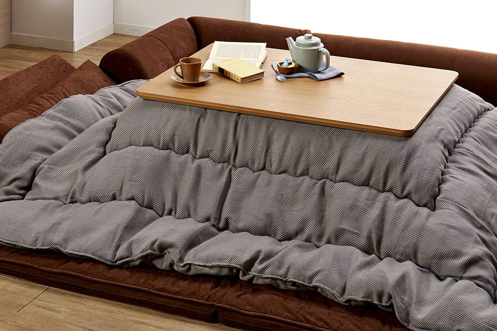 こたつ布団の選び方|こたつテーブルサイズから探せるこたつ布団