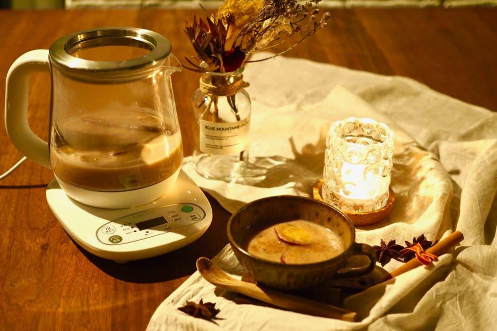 秋の夜長にぴったり!クックケトルで作る、さつまいもと甘酒のおしるこ