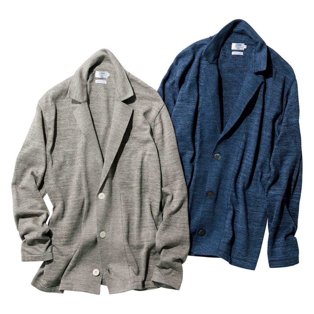 「GIM」 スペック染めニットジャケット