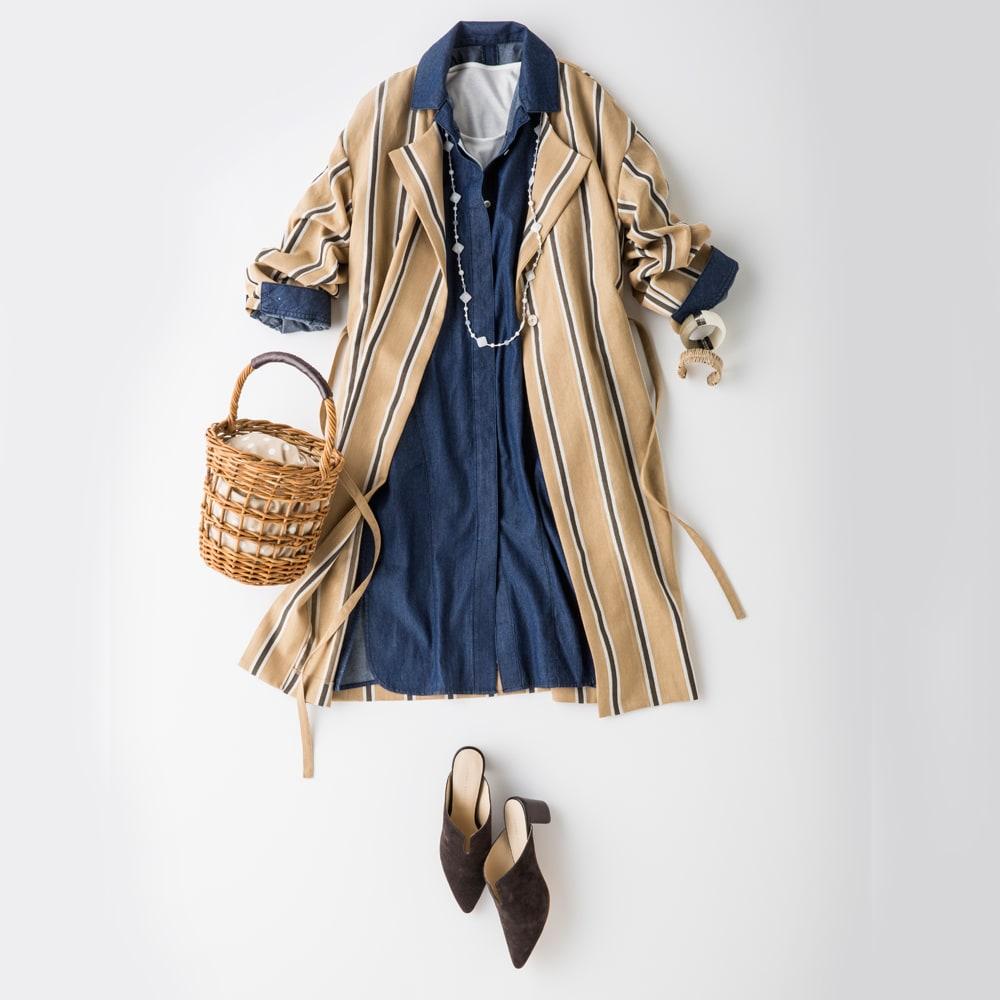 30代・40代のぽっちゃりコーデ。体型カバー&バランス重視の着やせ術