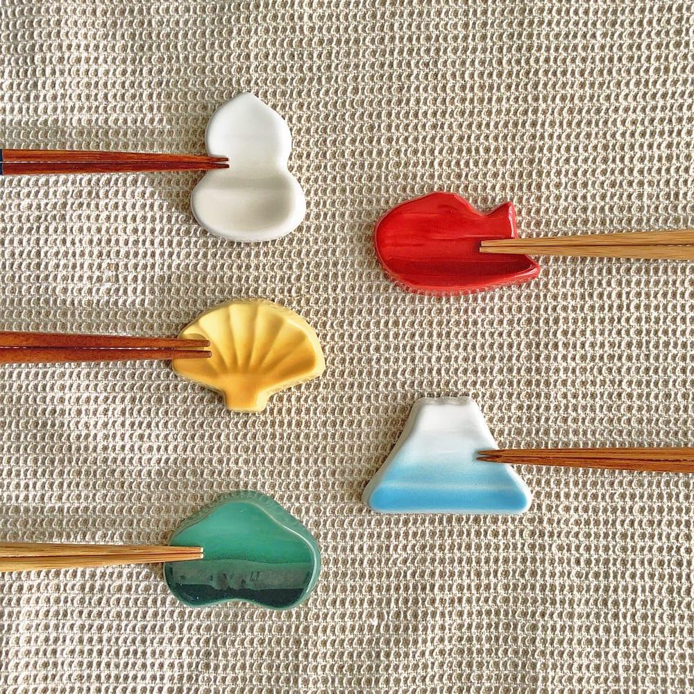 LE CREUSET/ル・クルーゼ 「ラッキーモチーフコレクション」<br />縁起物 箸置きセット