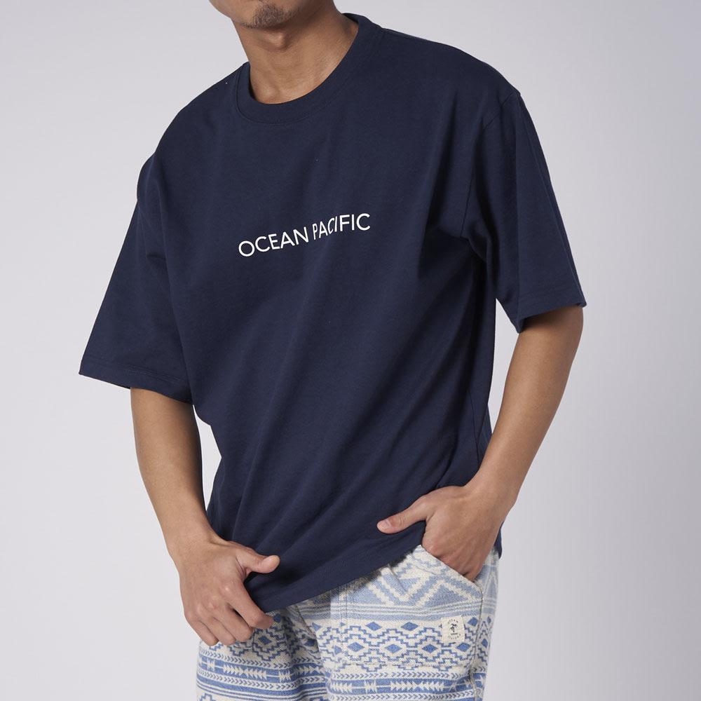 OP(オーシャンパシフィック)/MAPモチーフデザイン メンズTシャツ