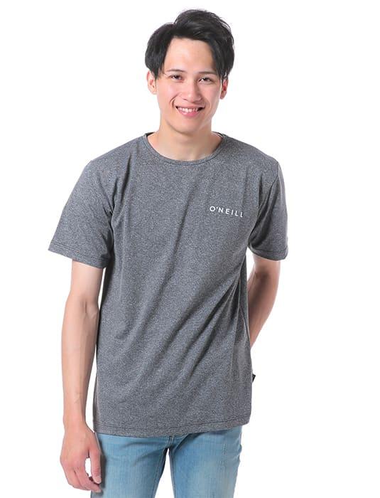 O'NEILL(オニール)/杢調半袖メンズラッシュTシャツ