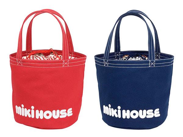 miki HOUSE(ミキハウス)/バケツ型ロゴトートバッグ