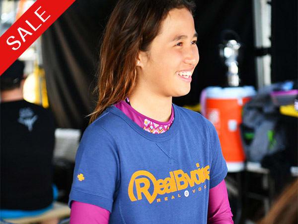 RealBvoice(リアルビーボイス)/キッズ ヘビーウェスト リブ Tシャツ RBV(130-160cm)