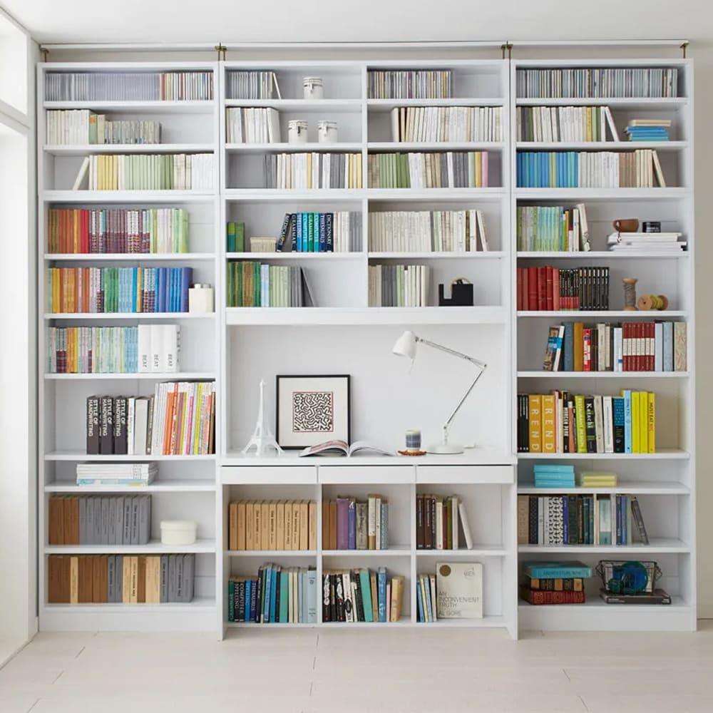 本好きの為のデスクシリーズ シェルフ 幅75cm