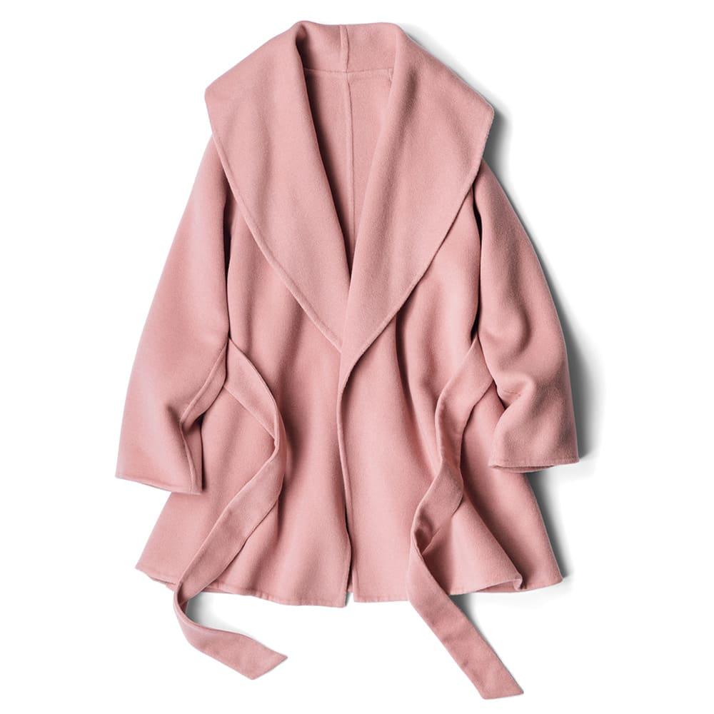 イタリア素材 カシミヤ ダブルフェイス コート
