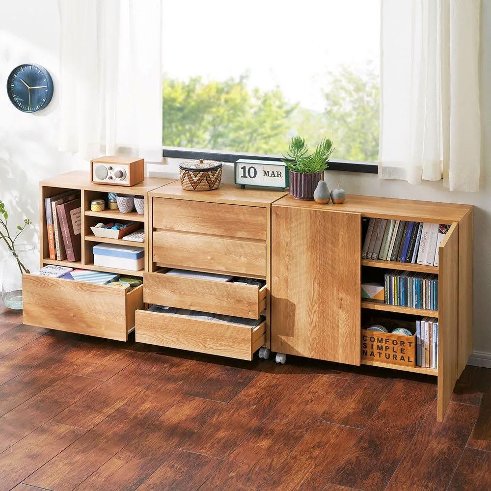 片付けられないのは収納不足が原因?部屋を狭くしない収納家具の選び方