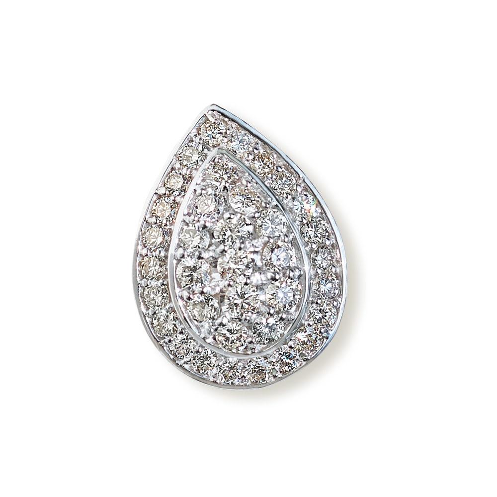 K18 1ct ダイヤ ペンダントヘッド