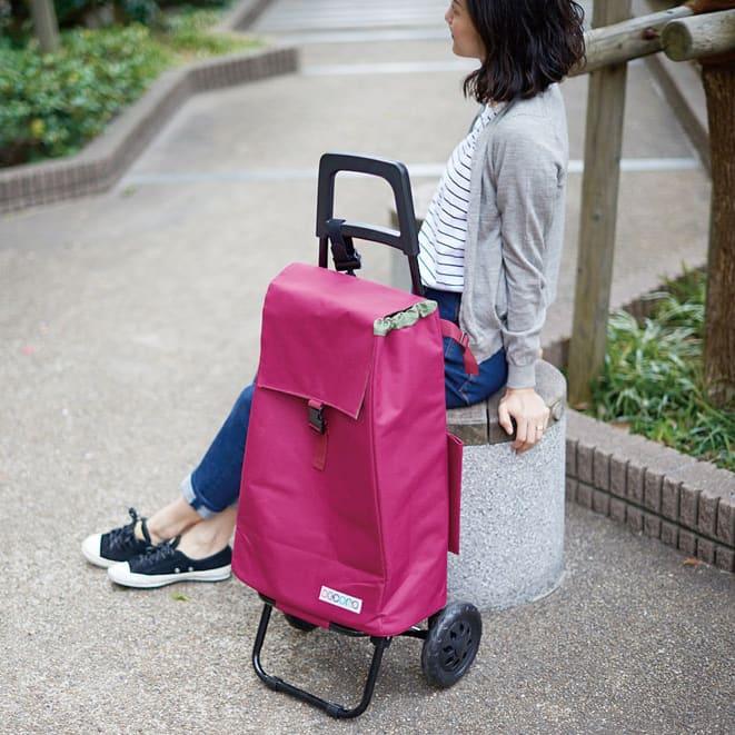 cocoro(コ・コロ)/たためて便利なショッピングカート PLAIN COLOR
