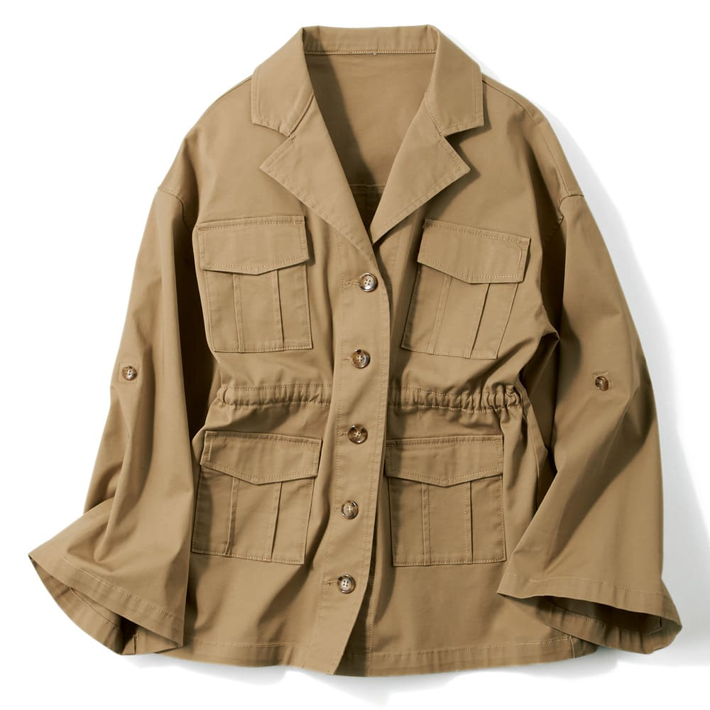 グラムブルーコットンワークジャケット