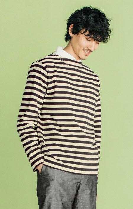 フランス「BUGIS」社 バスクシャツシリーズ ロングスリーブ