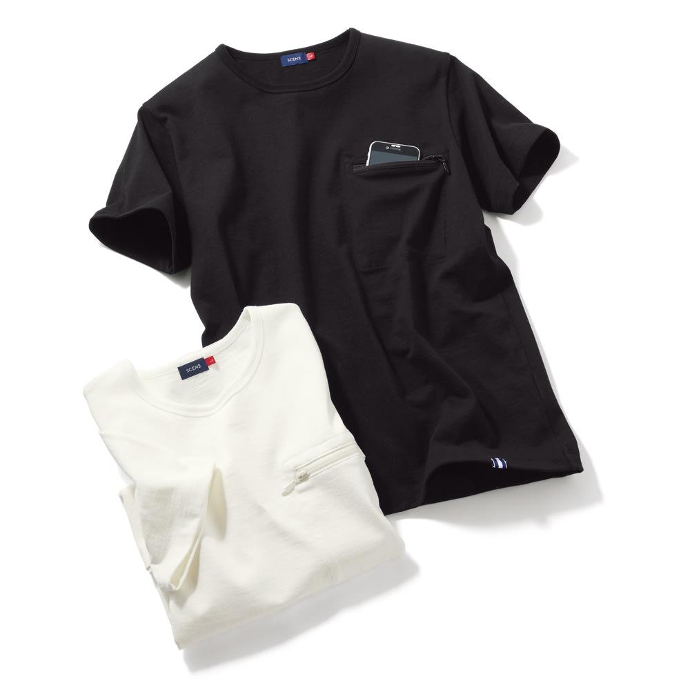ヴィンテージ スマホポケットTシャツ