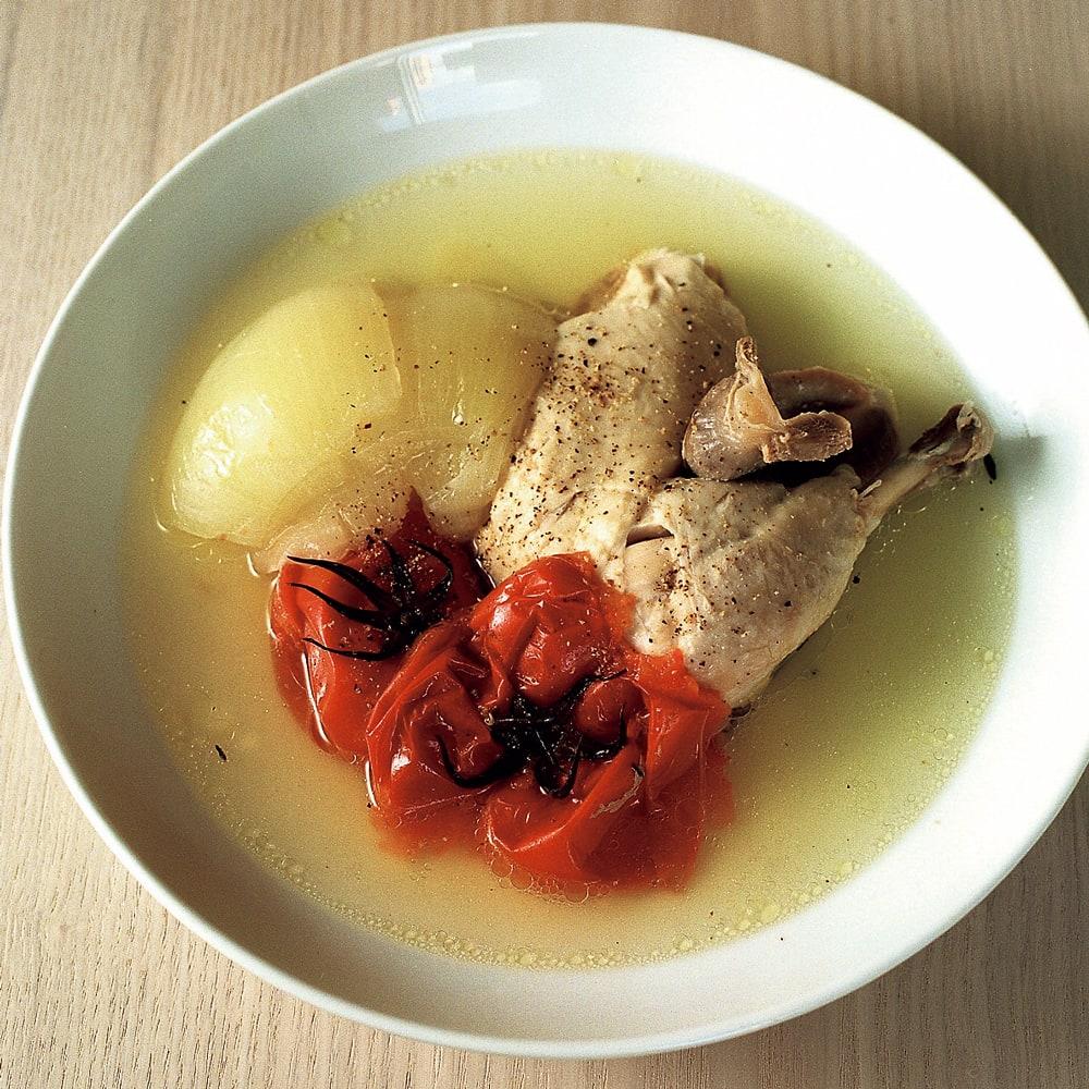 #06 圧力鍋で作る 鶏とトマトの煮込み