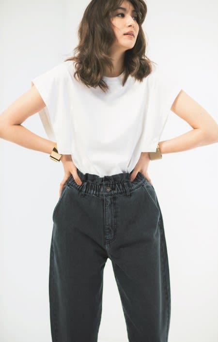 ウィングスリーブ クルーネックTシャツ