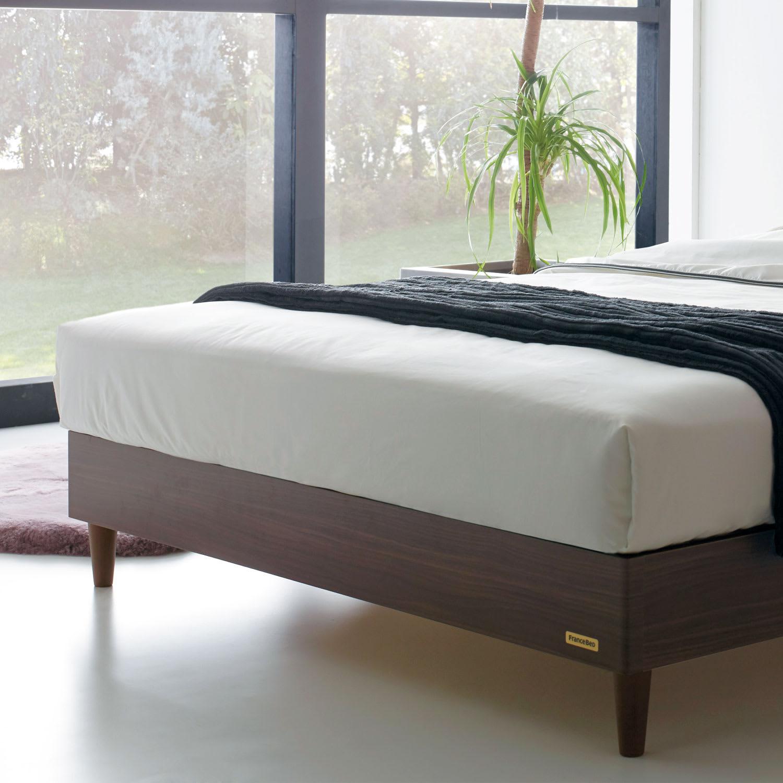 お部屋をきれいにお掃除しやすい脚付きタイプベッド