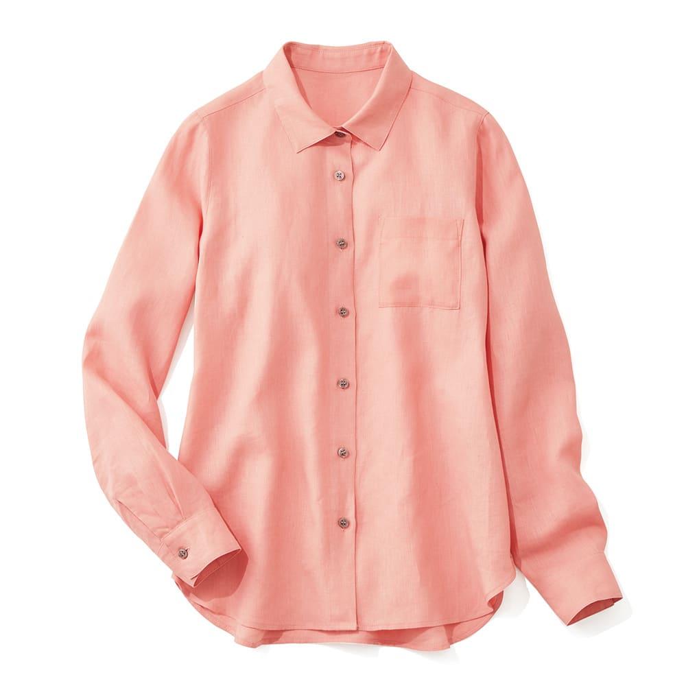 イタリア素材 リネン シャツ