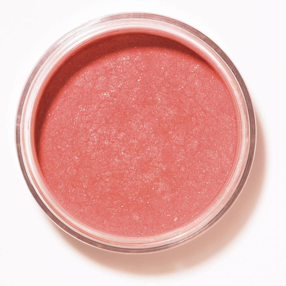 キュートな赤みのあるピンク