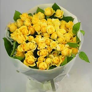 黄色バラの花束<br>11,000円(税込)