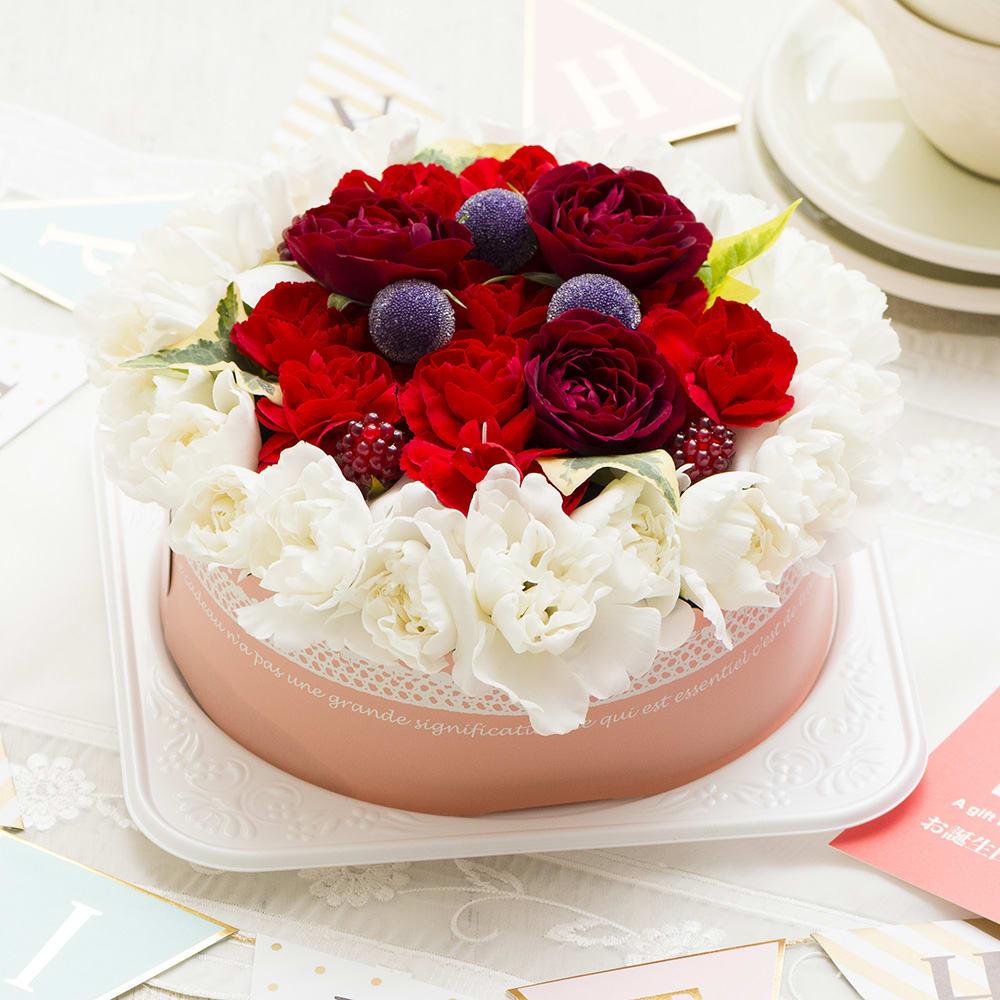 ケーキアレンジメント「ベリーベリー」<br>4400円(税込)