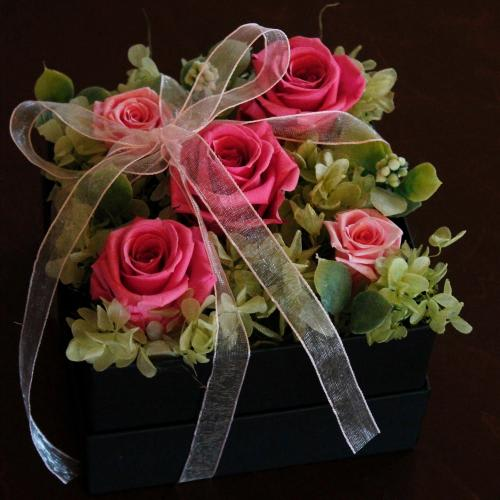 ふんわりリボンのBOX【ピンク】<br>5,500円(税込)