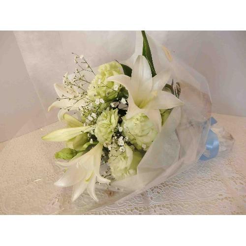 Heavenly Green〜淡いグリーン色の花束〜<br>3,850円(税込)
