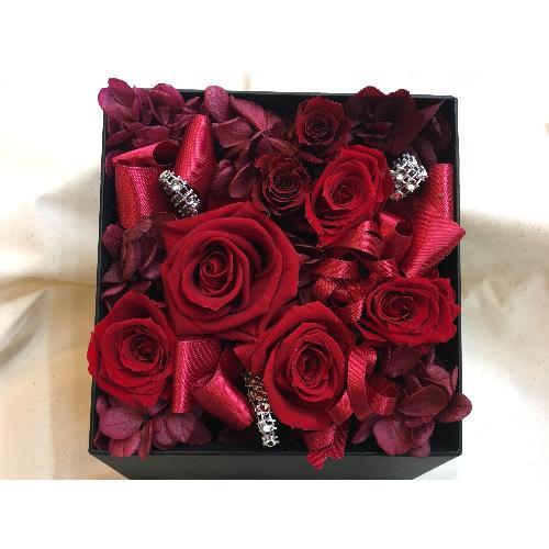 Flower Box ★レッドローズ★ 5,500円(税込)