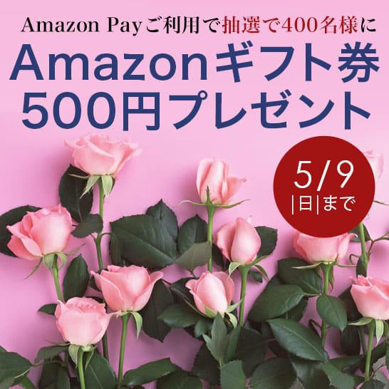 5月9日(日)まで!Amazonギフト券プレゼントキャンペーン開催中!
