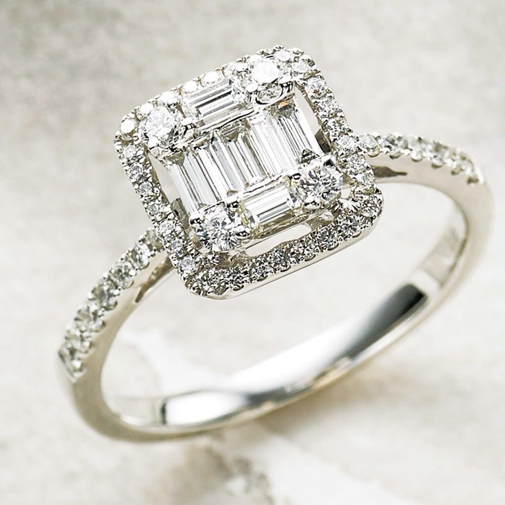 4月の誕生石<br />「ダイヤモンド」