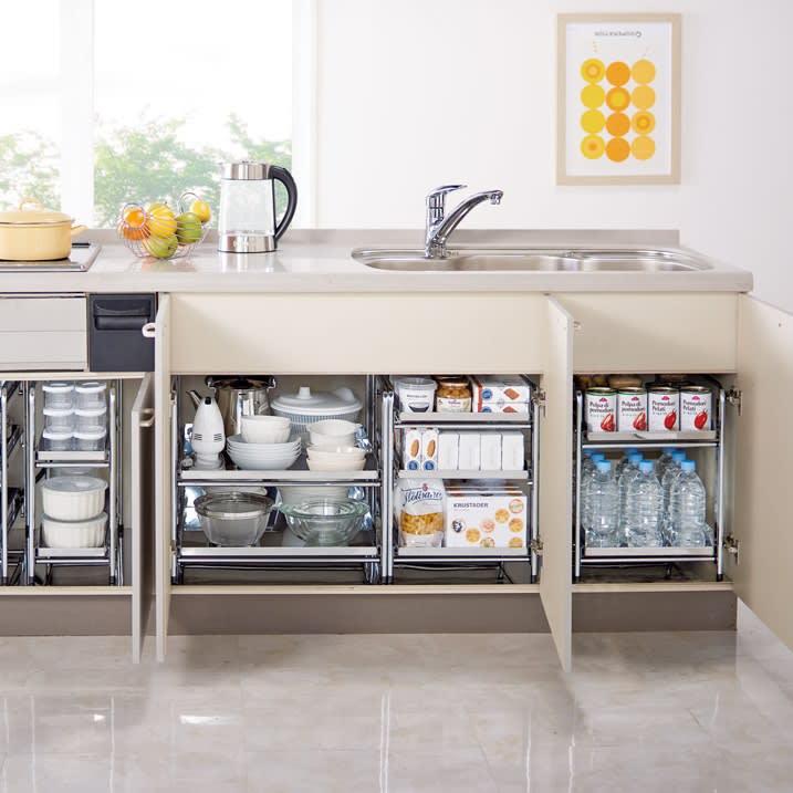 キッチン収納術のコツを知って、シンク下や引き出しの片付けをもっと効率よく!