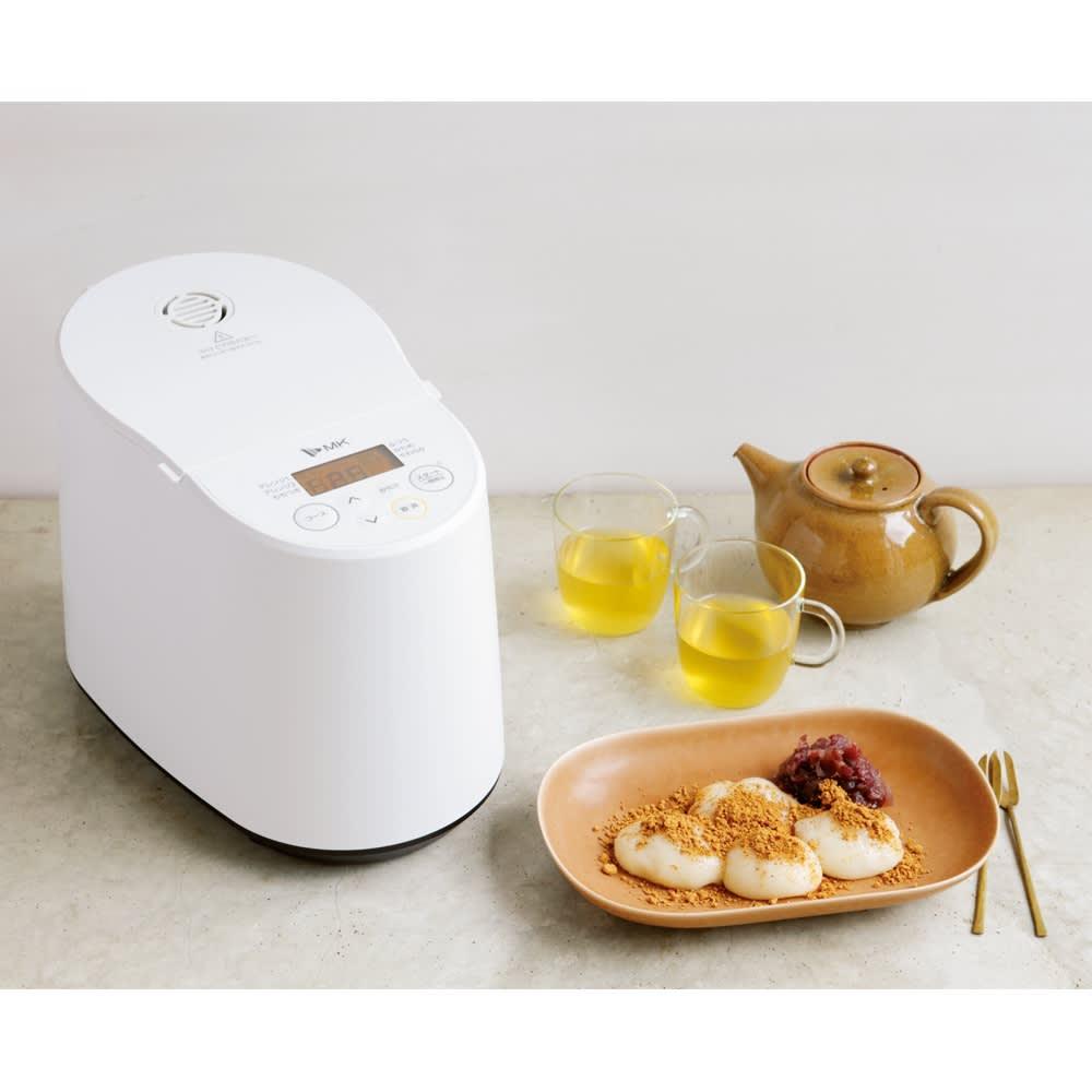 もちブレンダー エムケー精工 MK  餅つき機能と市販のお餅のアレンジ機能搭載!