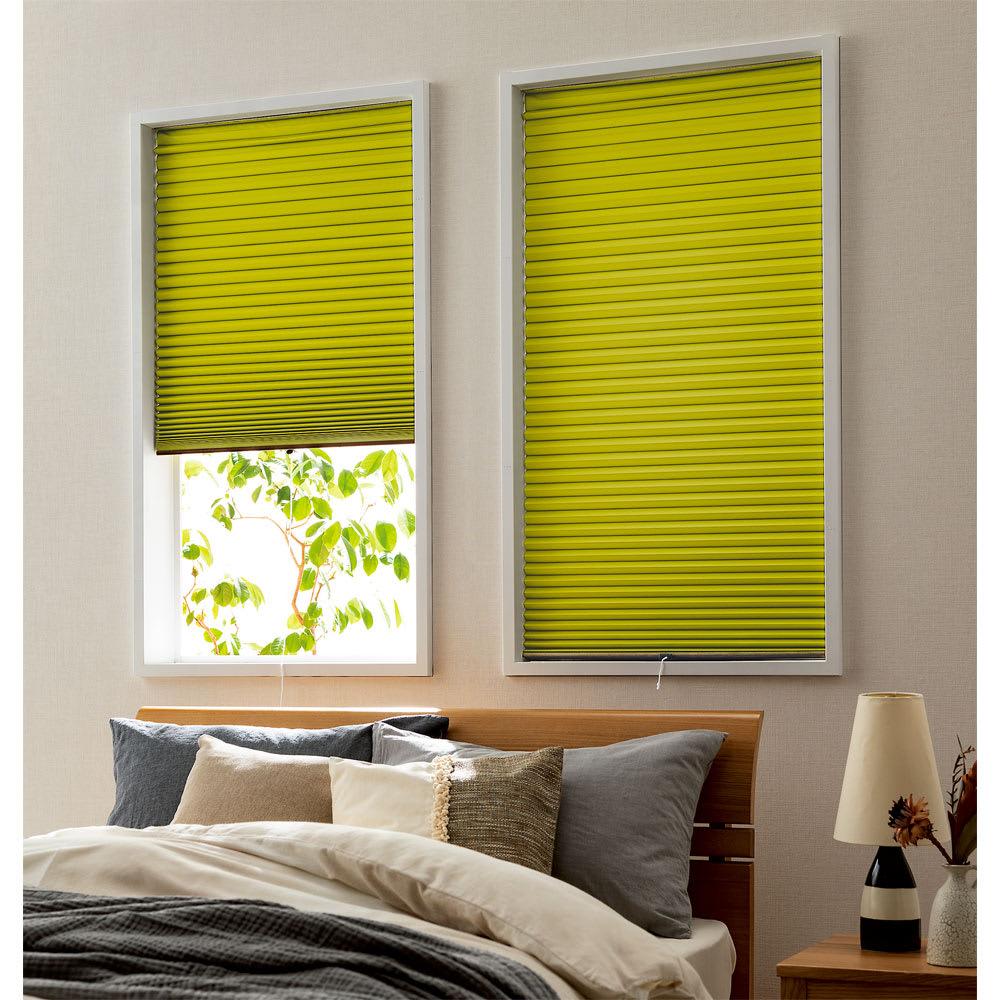 対応窓幅 36~38cm(生地幅35cm)丈80~90cm(遮光・断熱ハニカム構造の小窓用シェード)