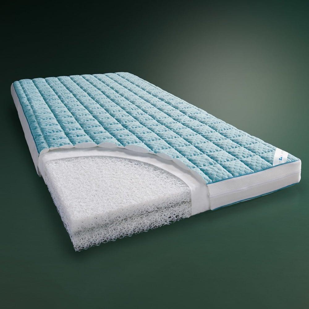 リッチな寝心地 ブレスエアー® NEWデラックスシリーズ 3つ折り敷布団 シングル