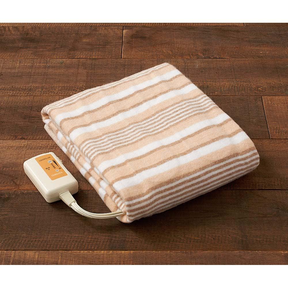 丸洗いできる電気敷毛布
