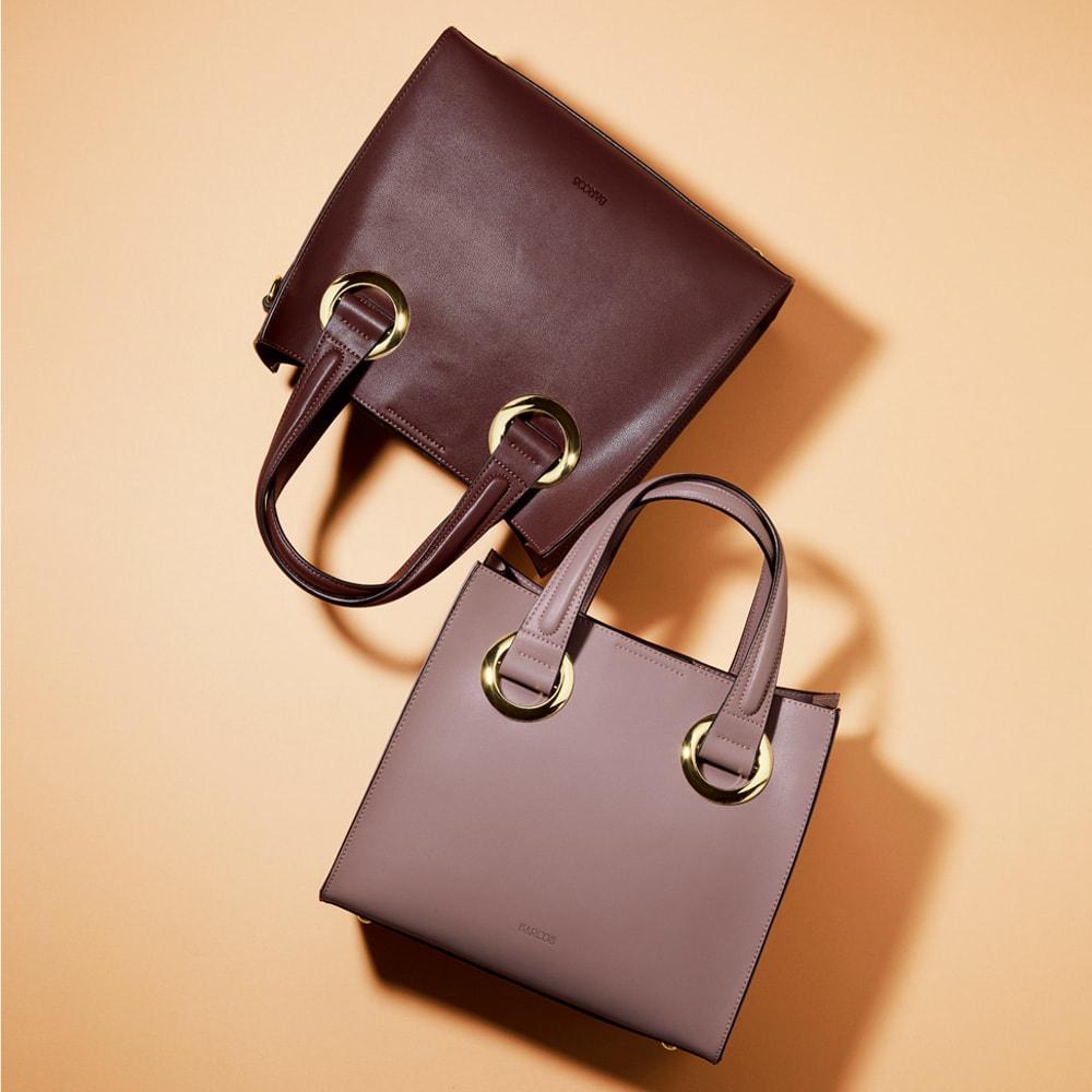 BARCOS/バルコス 2ウェイ金具デザインバッグ