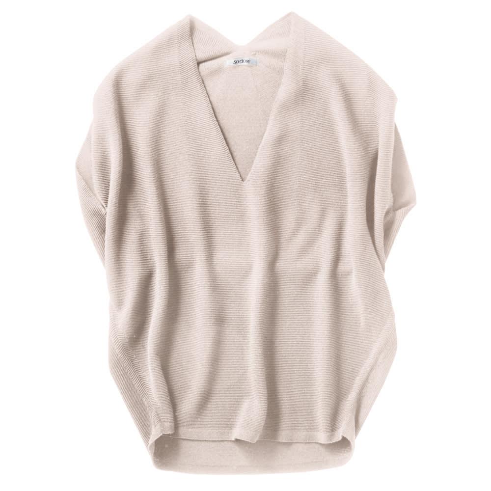ホールガーメント(R) パラソル編みプルオーバー