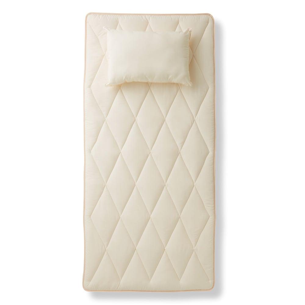 洗える清潔寝具シリーズ  ふんわり敷布団 シングル