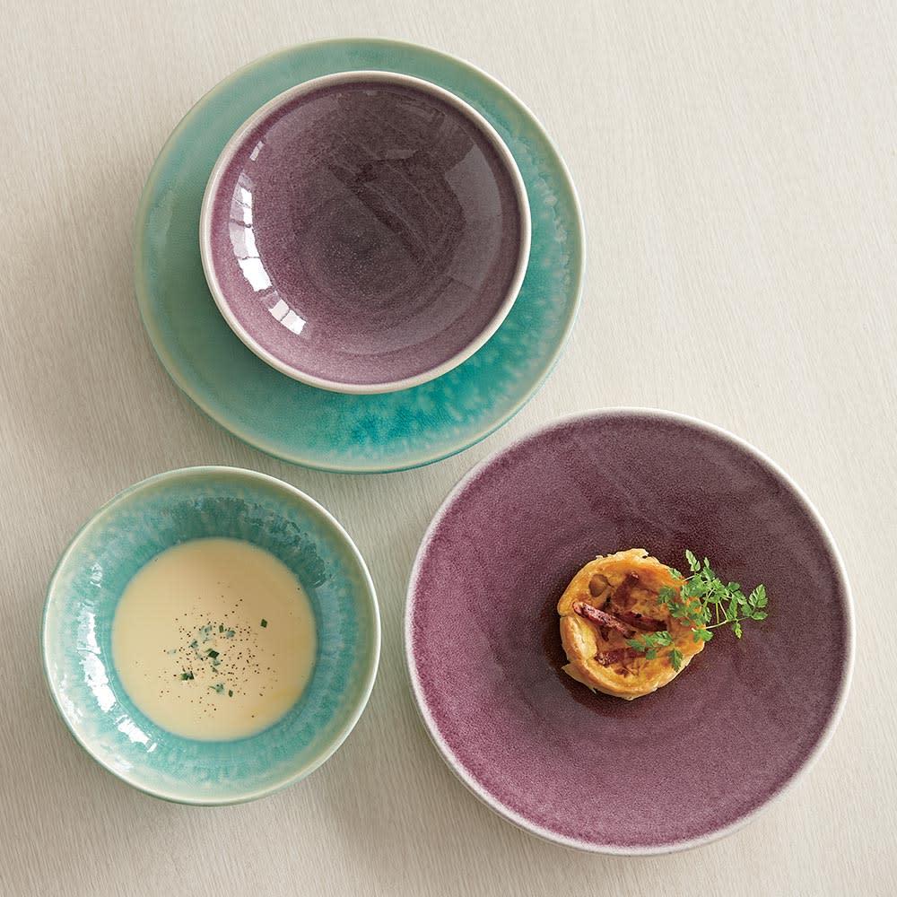 Jars/ジャス TOURRON ディナープレート&スーププレート 同色セット (フランス製 皿)