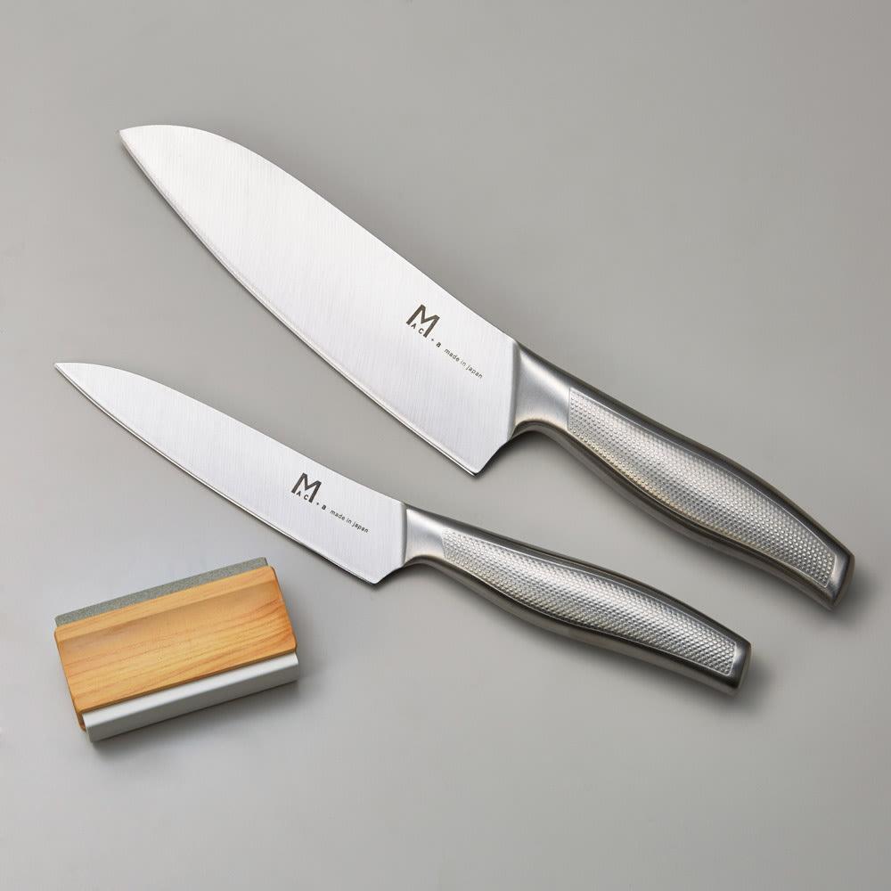 MAC+a/マックプラスエー 特選包丁シリーズ 2本セット(シャープナー付)