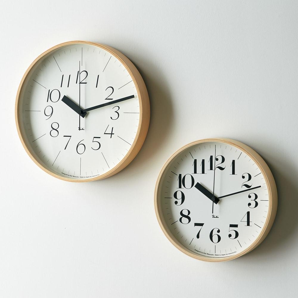 RIKI CLOCK/リキクロック 電波時計 径24cm[デザイン:渡辺力]
